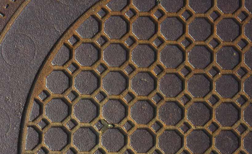 下水・雨水各種マンホール鉄蓋の販売・設計業務・維持管理