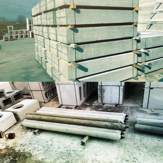 鉄筋コンクリート柵板・丸杭
